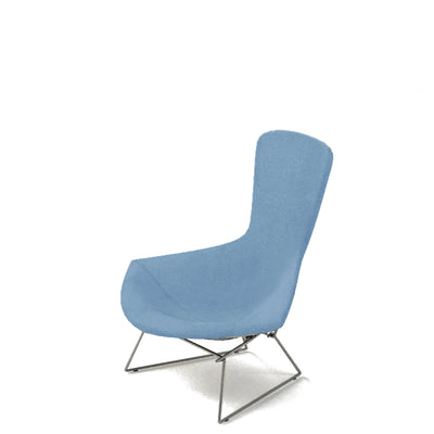 Knoll Bertoia Bird Lounge Chair Dusty Blue 0508