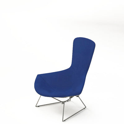 Knoll Bertoia Bird Lounge Chair Ensign Blue 0210