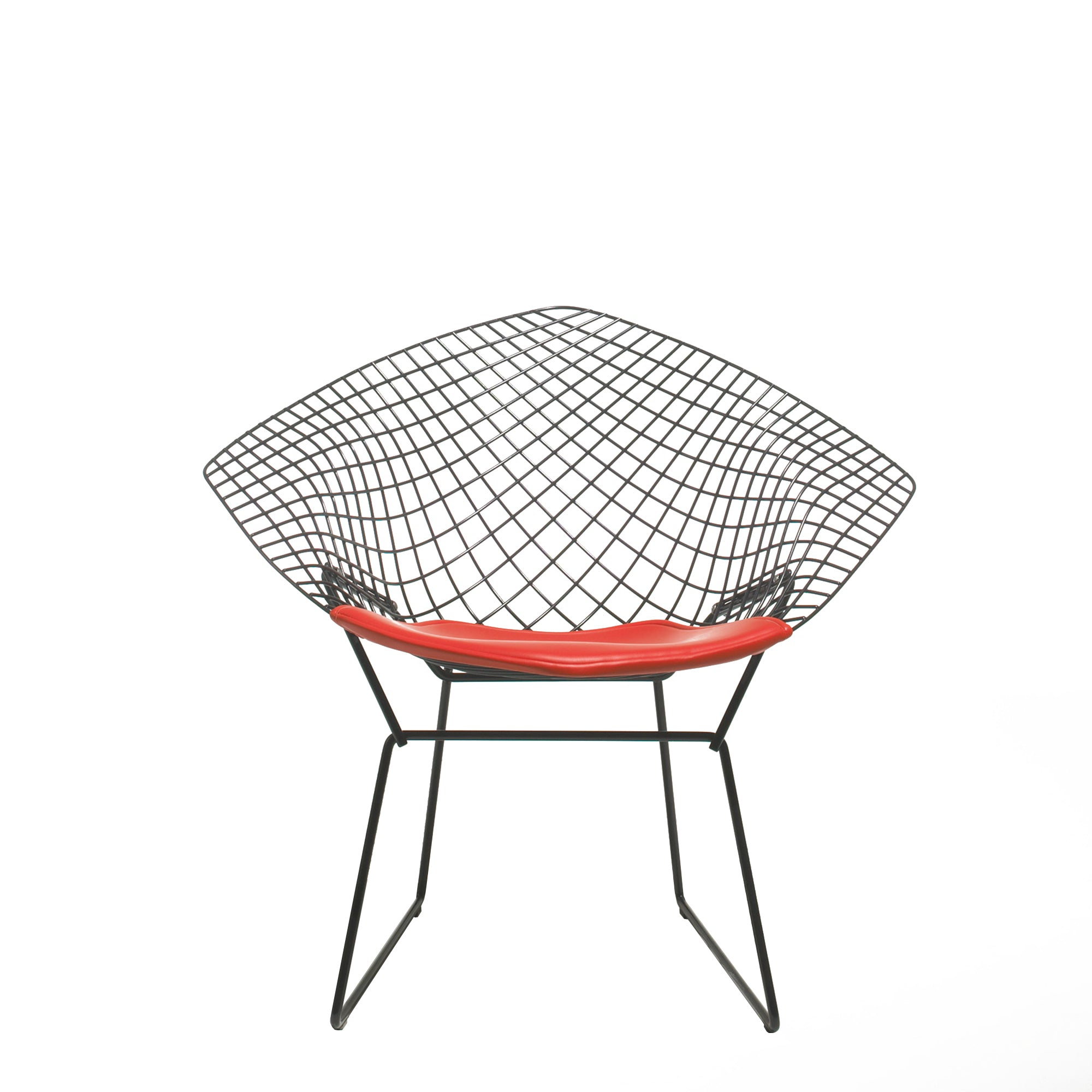 Knoll - Bertoia Diamond Lounge Chair with Seat Pad