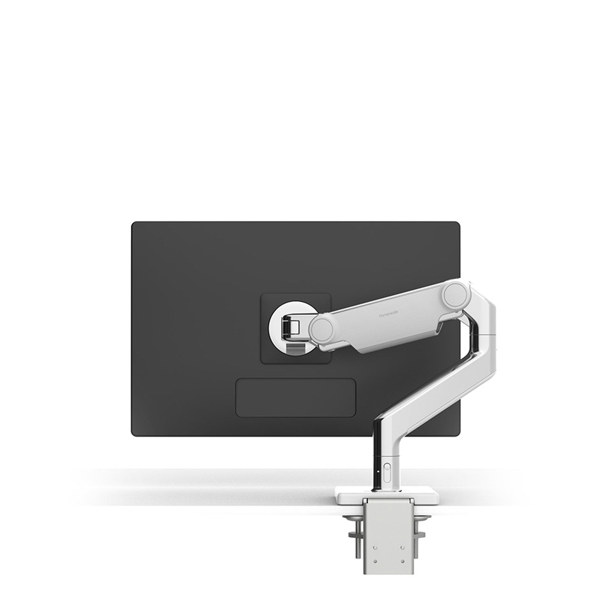 Humanscale Office Polished Aluminium M8.1 Monitor Arm