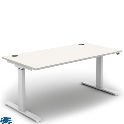 Mobili Office Electric Sit Stand, Height Adjustable Desk