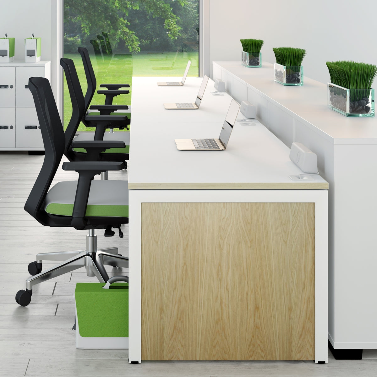 Elite Office Matrix Desk 1200mm Seating