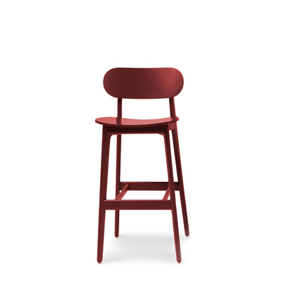 Modus Office PLC Bar Stool Wine Red