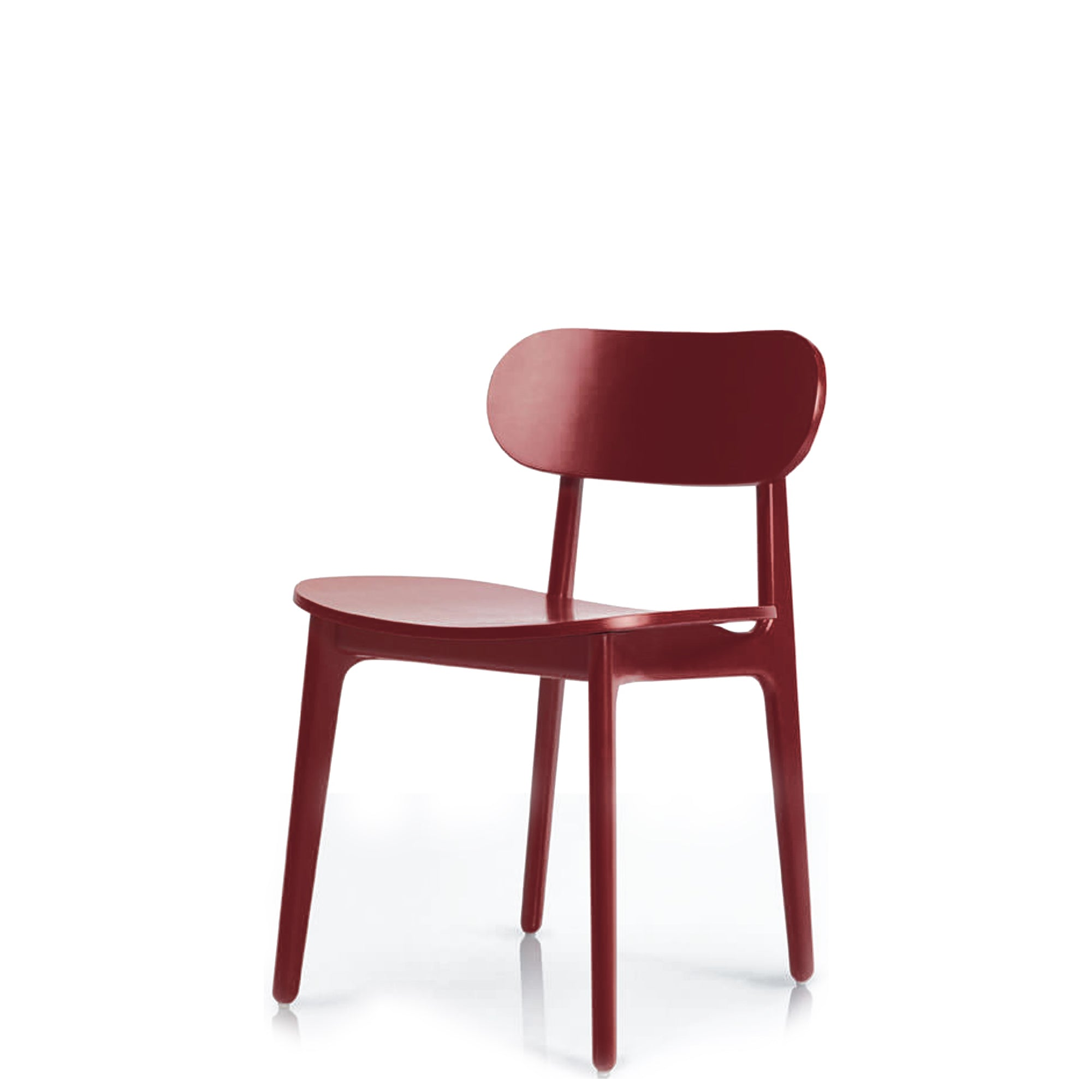 Modus - PLC Side Chair by Pearson Lloyd - Wine Red 3005