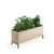 Edsbyn Office Neat Green Planter Box with Black Base
