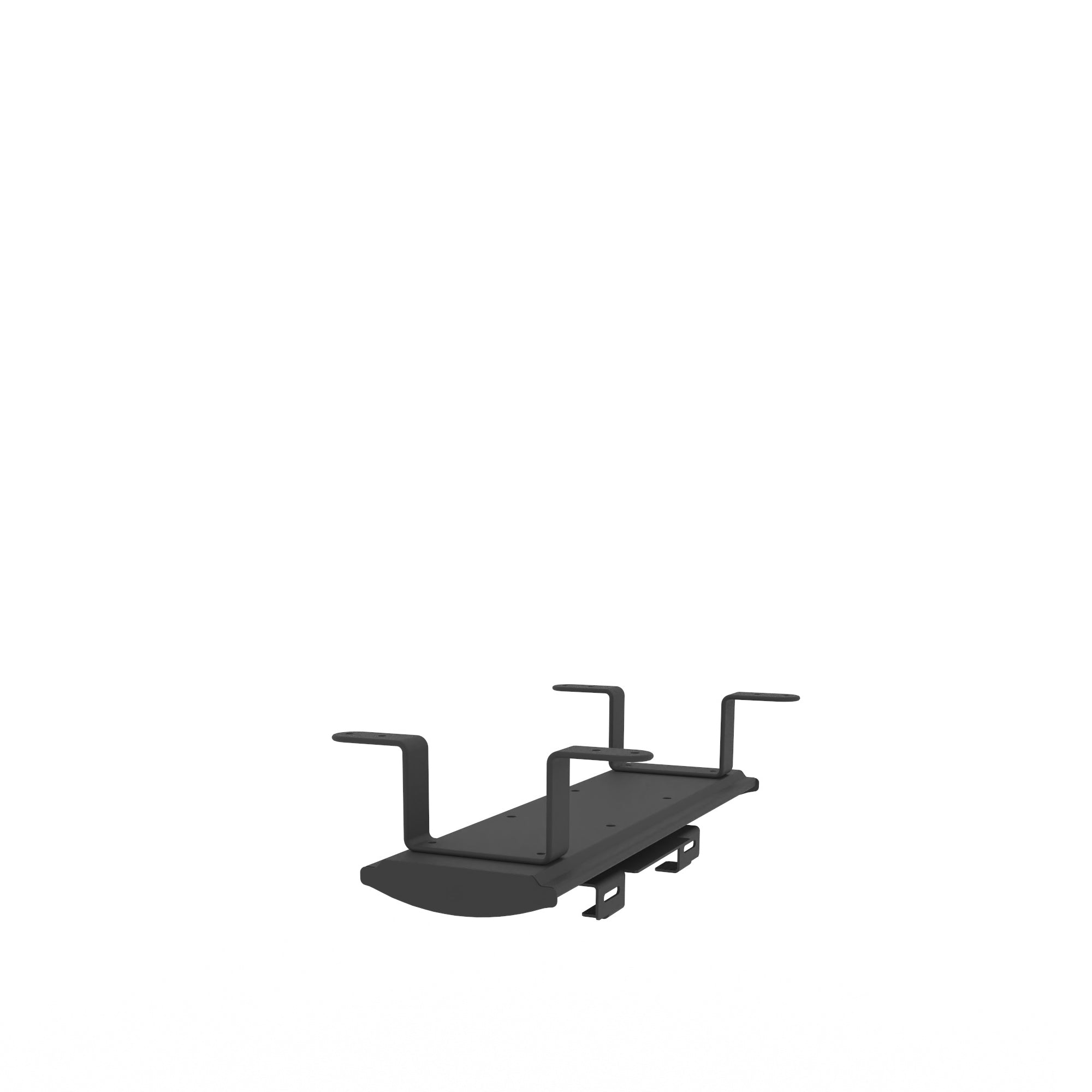 Edsbyn Office Black Rotating Under Desk CPU Holder