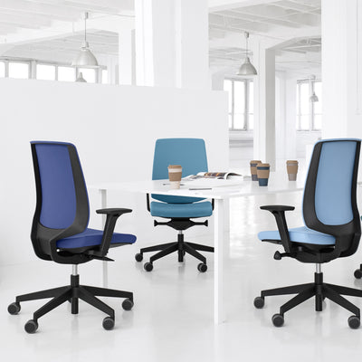 Spacestor LightUp Office Task Chair Upholstered