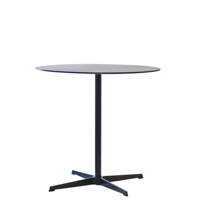 New Design Group Black Office Round Cafe Table