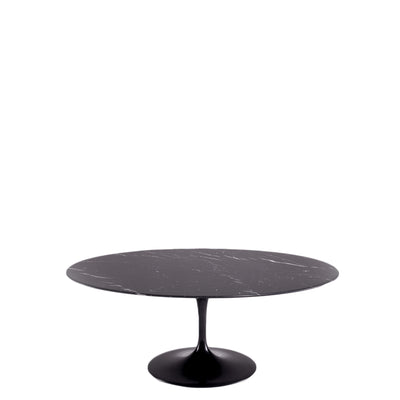 Knoll Saarinen Tulip Nero Maquina Marble Coffee Table