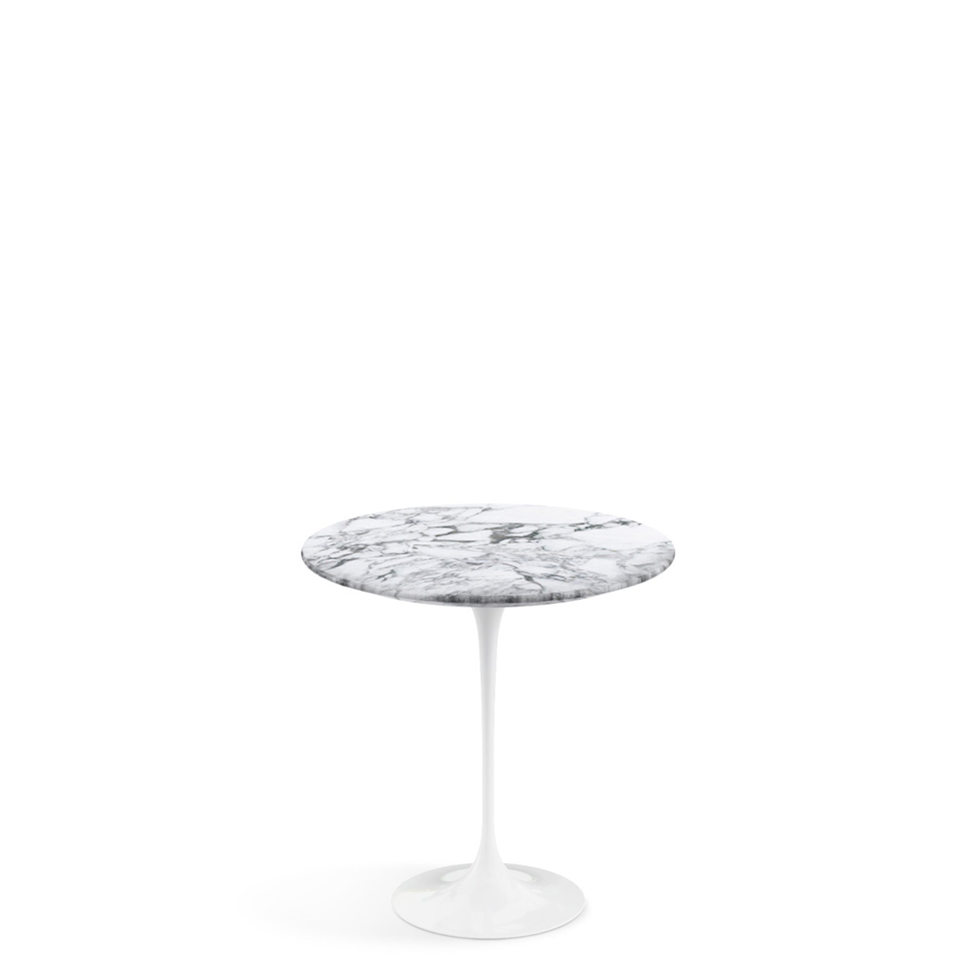 Knoll Saarinen Tulip Arabescato Marble Table Ewop