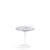 Knoll Saarinen Tulip Arabescato Marble Side Table