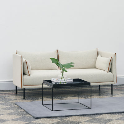 HAY Office Silhouette Sofa 2 Seater - Steel Leg Seating