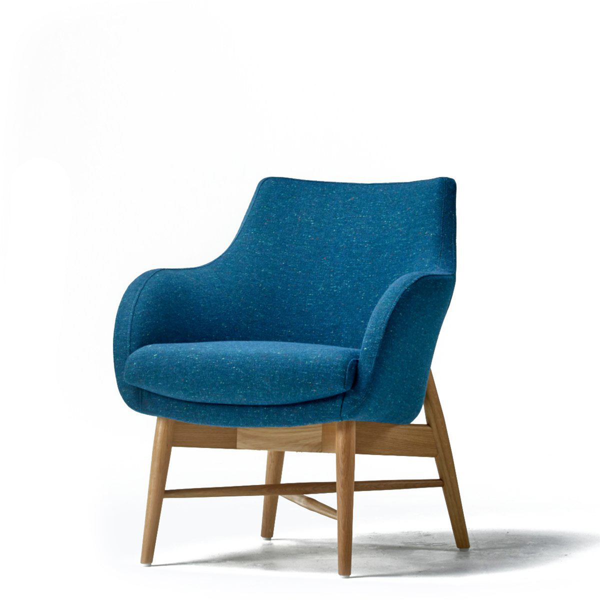 Roger Lewis Office Sintra Compact Chair Timber Base