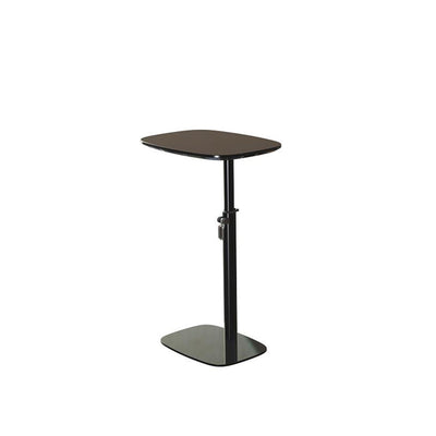 sixteen3 Black Adjustable Laptop Table with Powder Coated Steel Frame and Laminated MDF Top