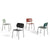 HAY Pair of Soft Edge P10 Stackable Chairs Seating
