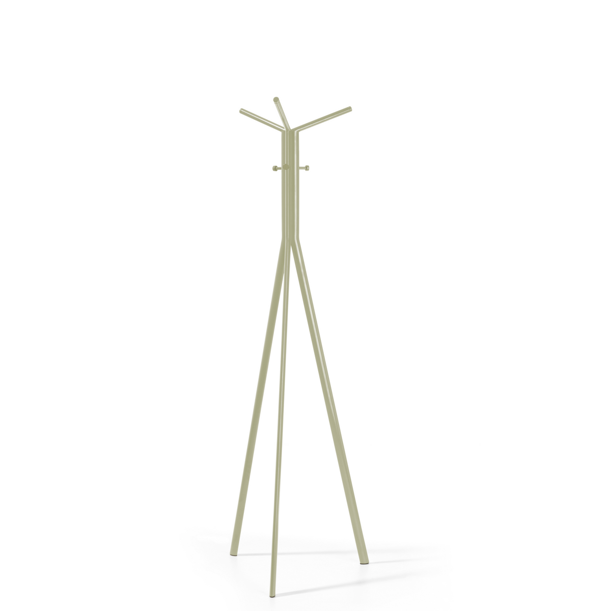 Spacestor Office Seven Coat Stand Green Beige