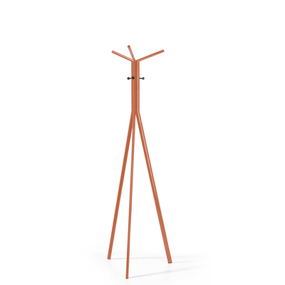 Spacestor Office Seven Coat Stand Salmon Orange