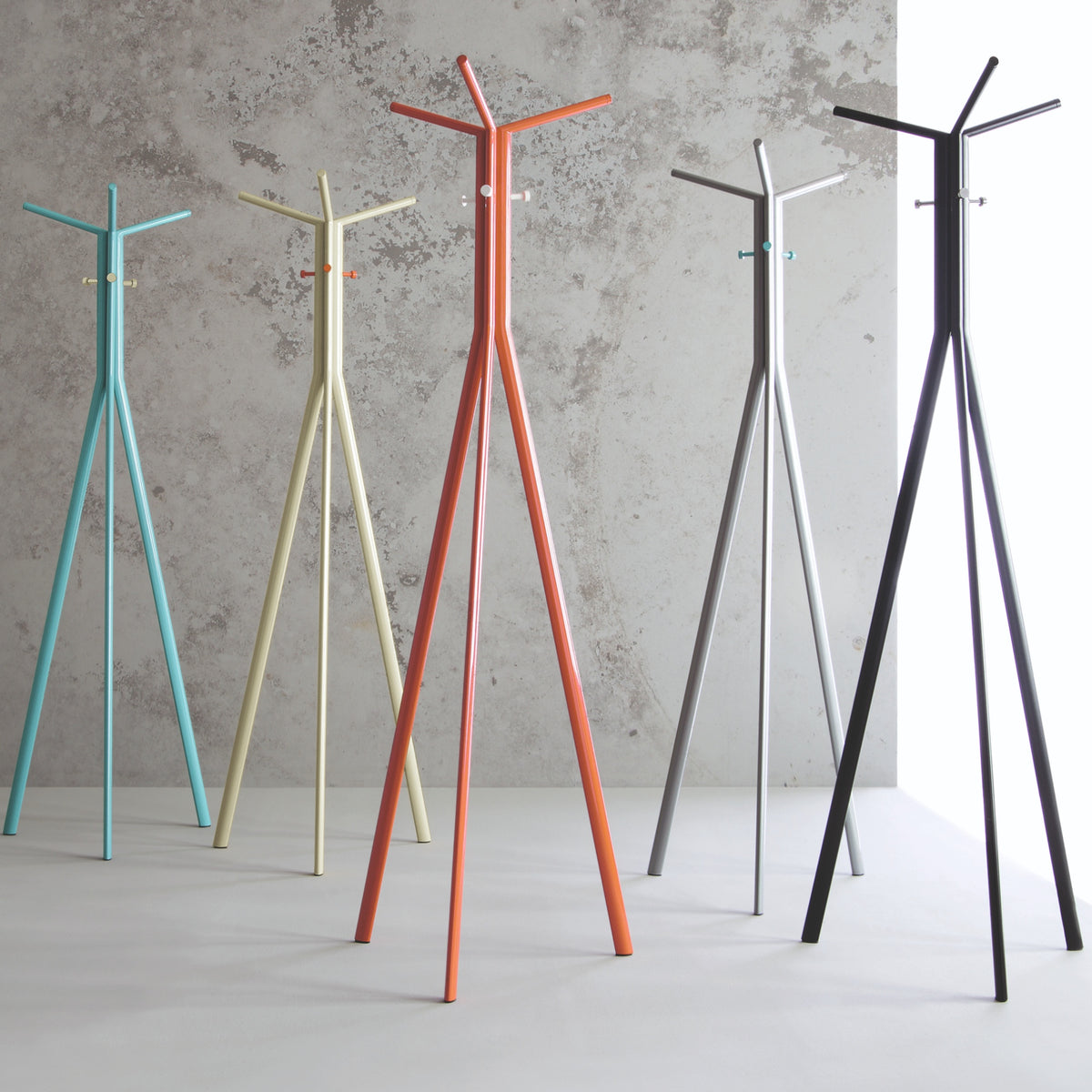Spacestor Office Seven Coat Stand