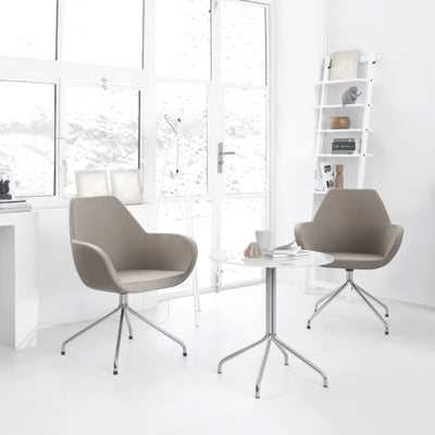 Spacestor Office Fan Chair with Swivel Base Seating