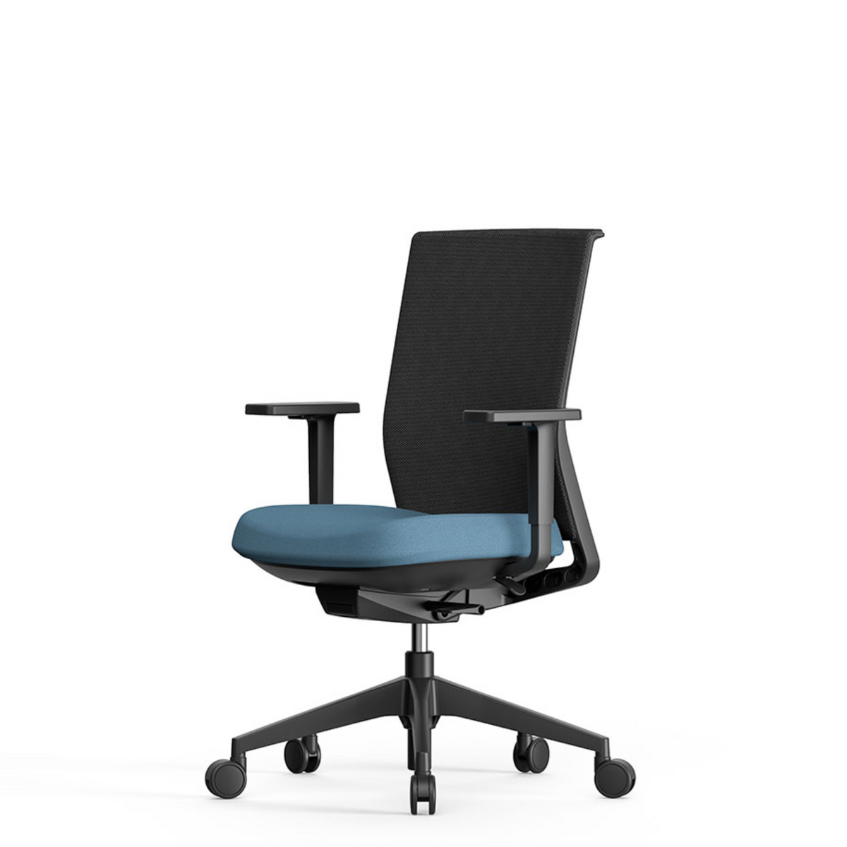 Actiu Office Stay Task Chair - Mesh Back Sky Blue