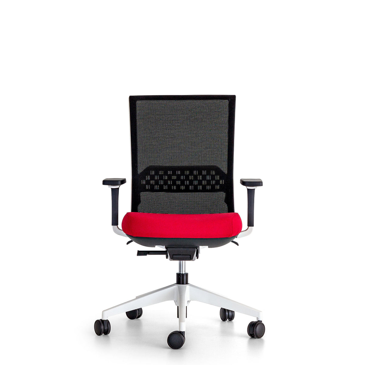 Actiu Office Stay Task Chair - Mesh Back Red