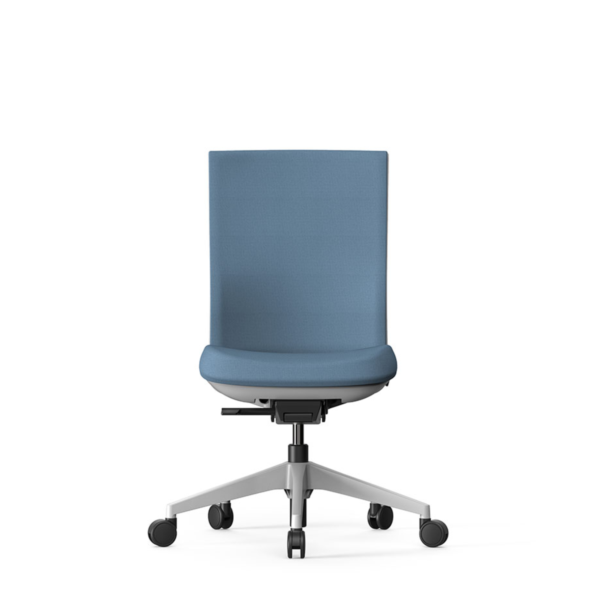 Actiu Office Stay Task Chair - Upholstered Back Sky Blue