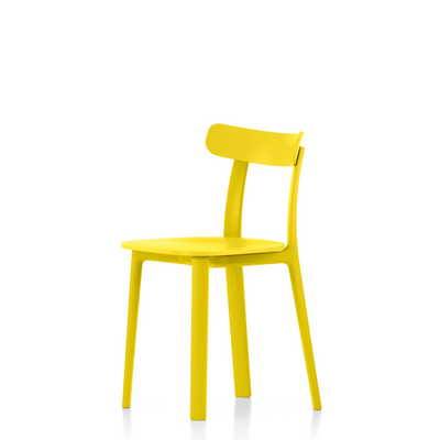 Vitra Office All Plastic Chair by Jasper Morrison Buttercup