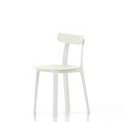 Vitra Office All Plastic Chair by Jasper Morrison White