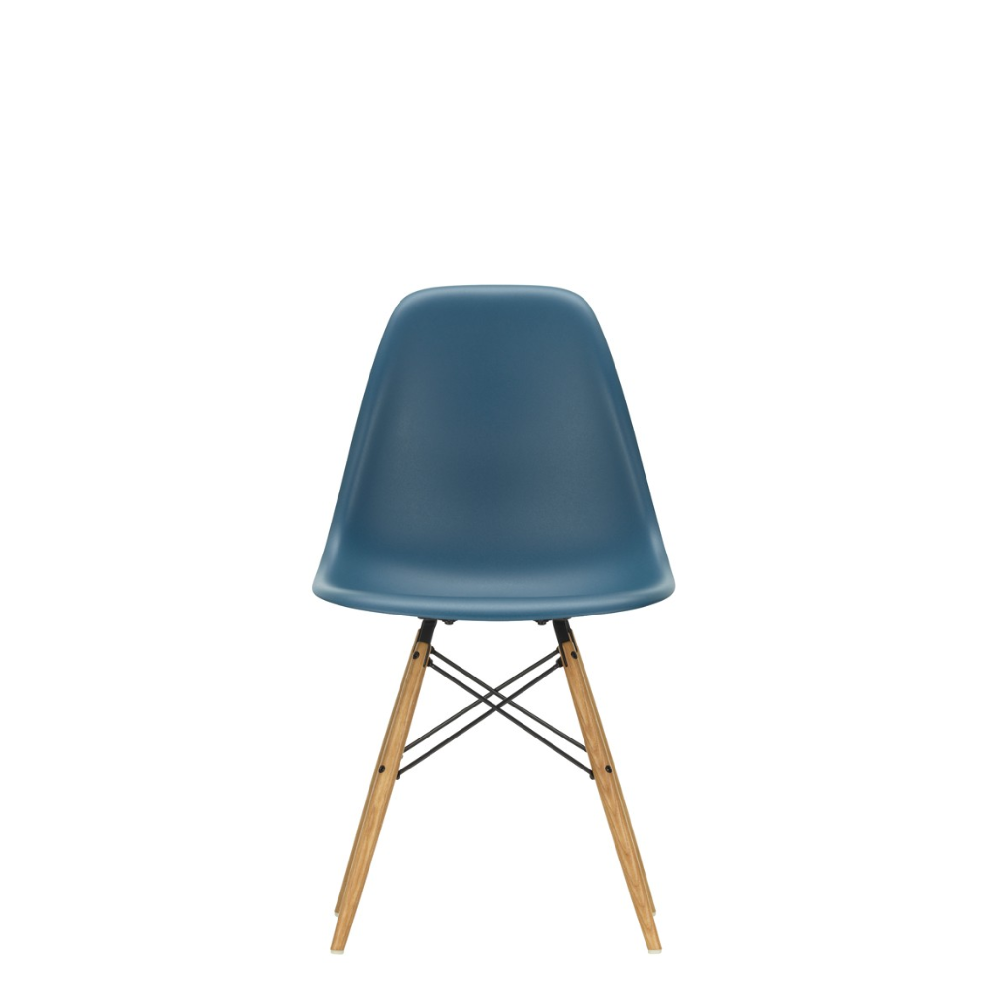 Vitra Eames DSW Plastic Side Chair Sea Blue 83