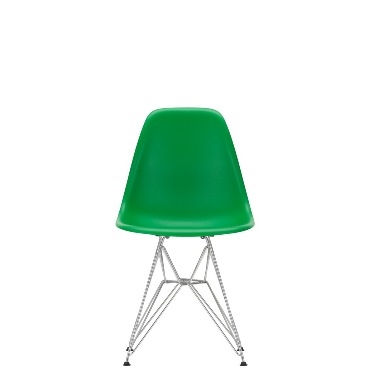 Vitra Eames Plastic Side Chair DSR Green 42