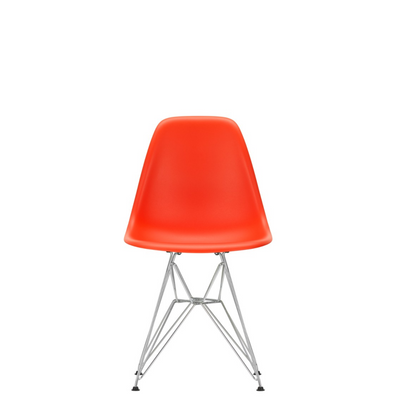 Vitra Eames Plastic Side Chair DSR Poppy Red 03
