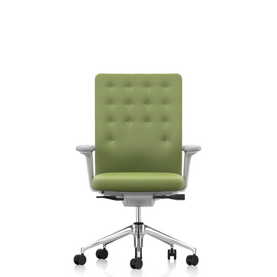 Vitra Office Task Chair ID Trim by Antonio Citterio Polished Aluminium Base Laser 09