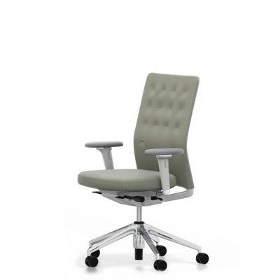 Vitra ID Trim Office Task Chair Light Grey Forest 28