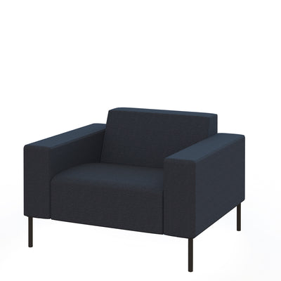 Hitch Mylius Office HM18 Origin Armchair Black Legs Tower