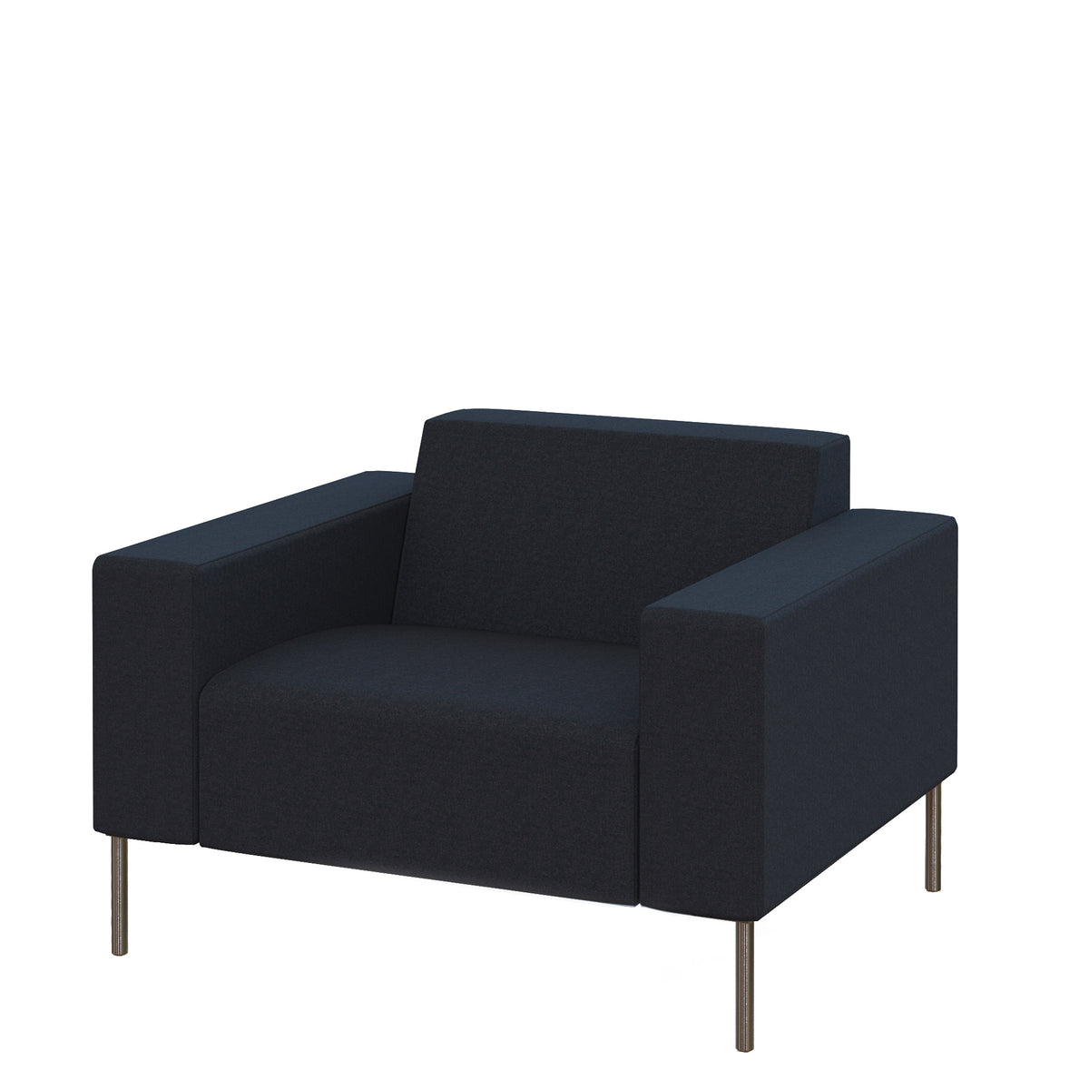 Hitch Mylius HM18 Origin Armchair Brushed Stainless Steel Legs Tower
