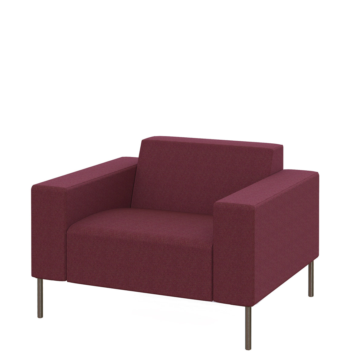 Hitch Mylius HM18 Origin Armchair Brushed Stainless Steel Legs Wembley