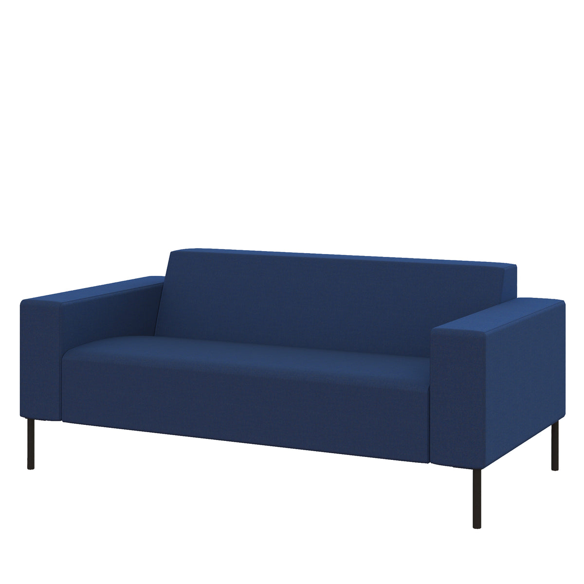 Hitch Mylius HM18 Origin Two Seat Sofa Black Legs Holborn