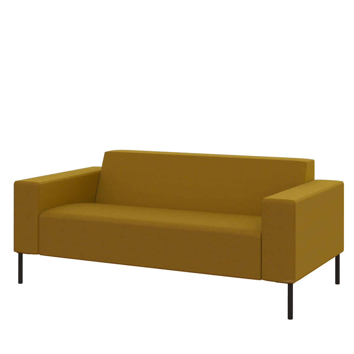 Hitch Mylius HM18 Origin Two Seat Sofa Black Legs Tooting