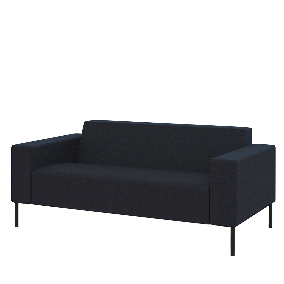 Hitch Mylius HM18 Origin Two Seat Sofa Black Legs Tower