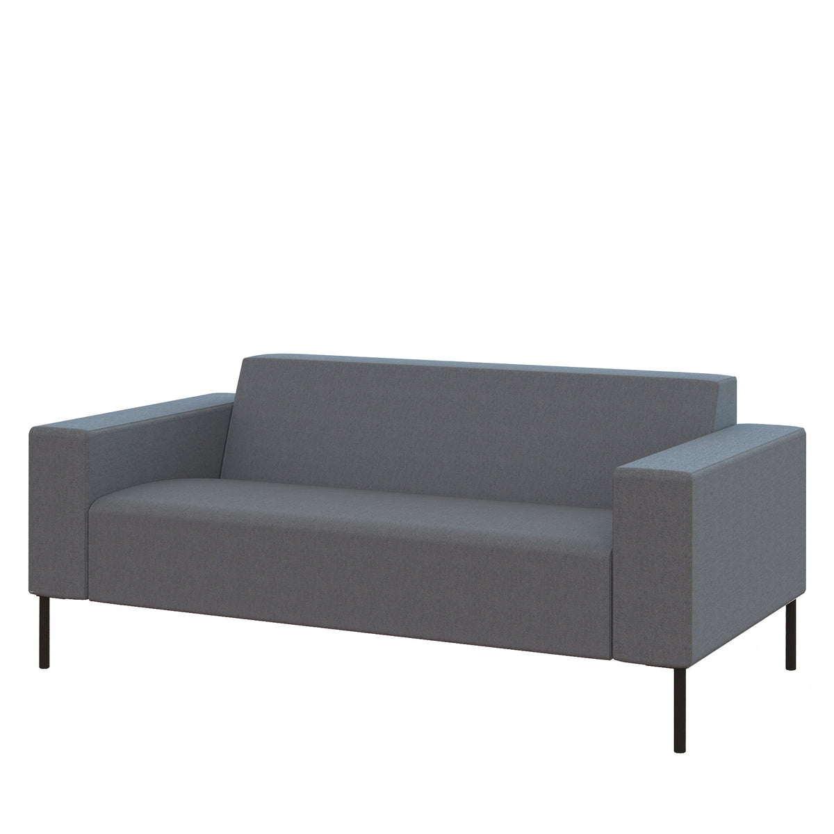 Hitch Mylius HM18 Origin Two Seat Sofa Black Legs Westminster
