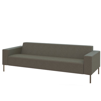 Hitch Mylius HM18 Origin Three Seat Sofa Brushed Stainless Steel Legs Camden