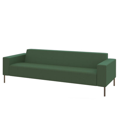 Hitch Mylius HM18 Origin Three Seat Sofa Brushed Stainless Steel Legs Farringdon