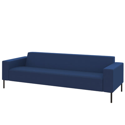 Hitch Mylius HM18 Origin Three Seat Sofa Black Legs Holborn