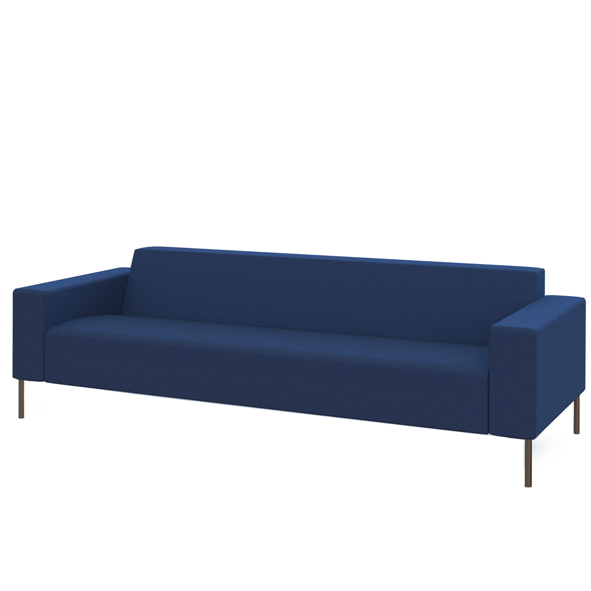 Hitch Mylius HM18 Origin Three Seat Sofa Brushed Stainless Steel Legs Holborn