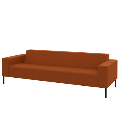 Hitch Mylius HM18 Origin Three Seat Sofa Black Legs Leyton