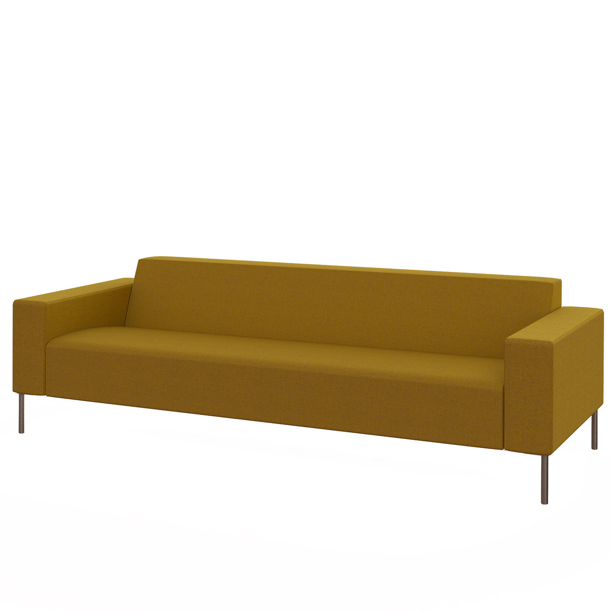 Hitch Mylius HM18 Origin Three Seat Sofa Brushed Stainless Steel Legs Tooting