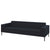 Hitch Mylius HM18 Origin Three Seat Sofa Black Legs Tower