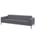 Hitch Mylius HM18 Origin Three Seat Sofa Black Legs Westminster