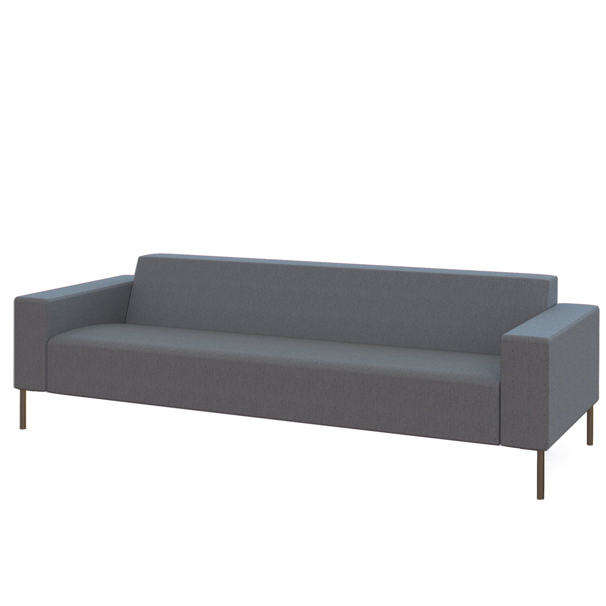 Hitch Mylius HM18 Origin Three Seat Sofa Brushed Stainless Steel Legs Westminster