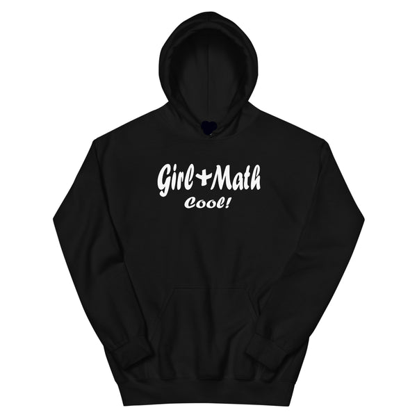 Girl + Math Cool! Pullover Hoodie - Black